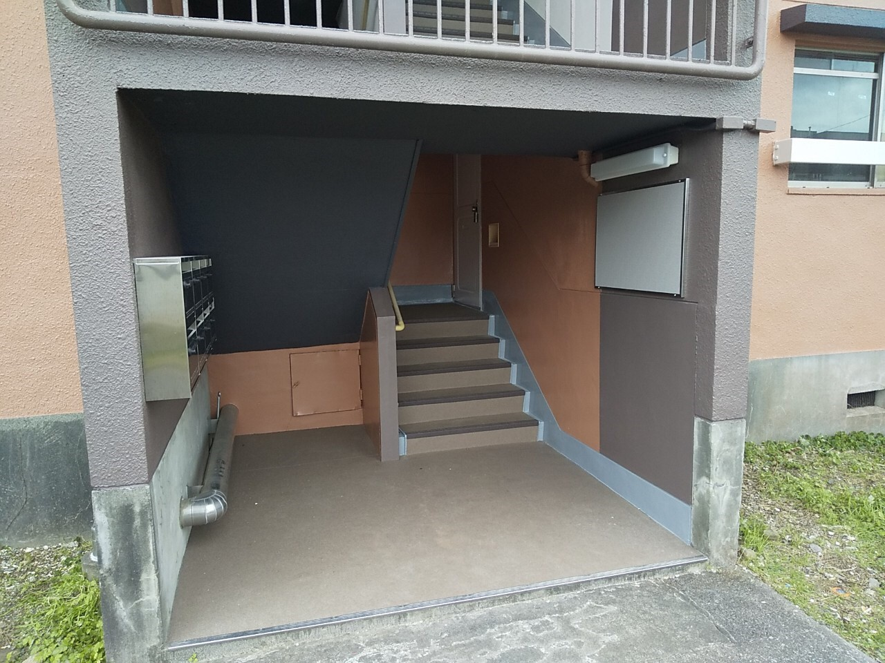 静岡県 マンション2棟イメージアップ工事