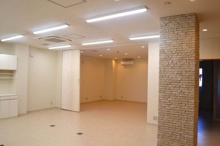 大阪府 眼科医院 新装工事