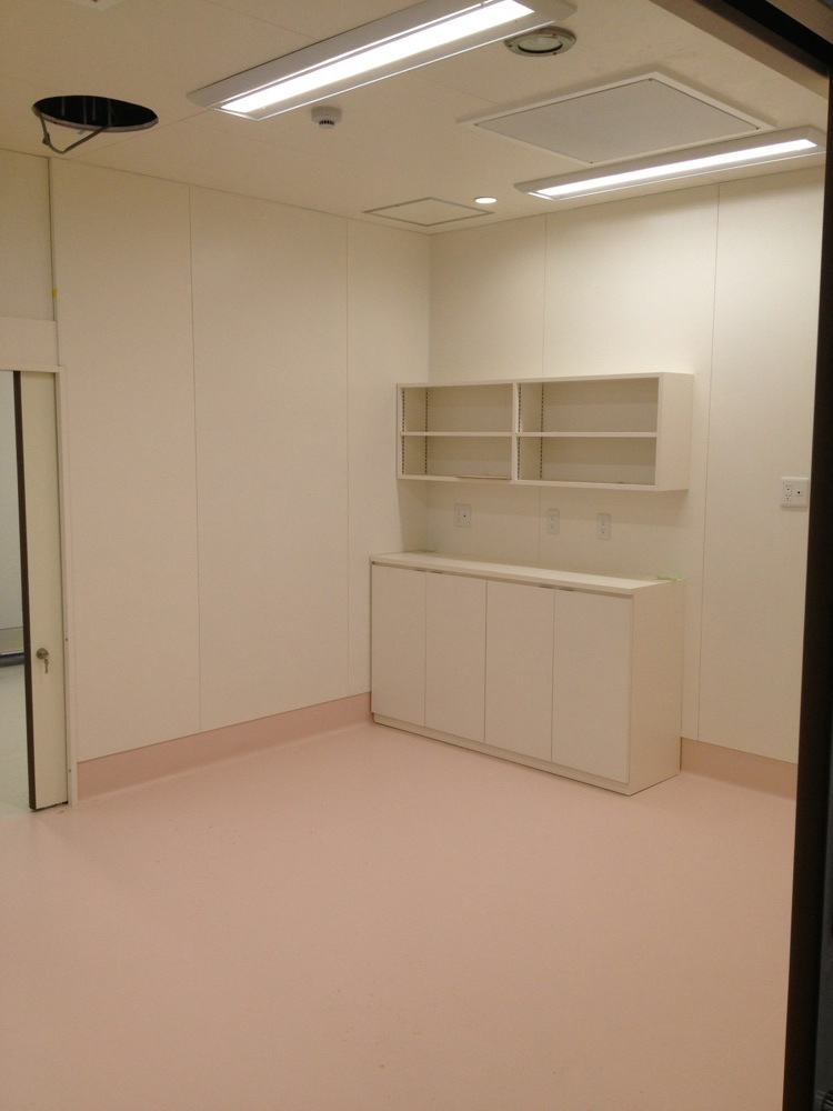 あべのハルカス内 医療施設 新装工事
