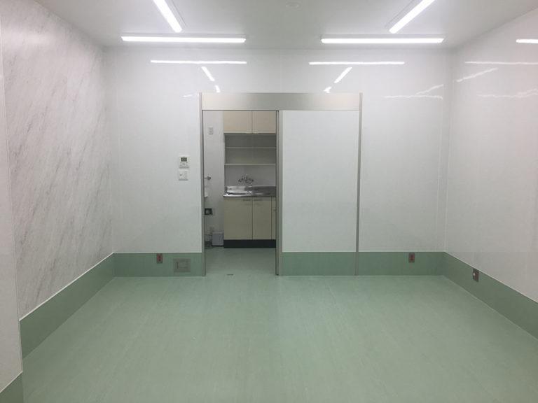 徳島県 眼科医院 新装工事