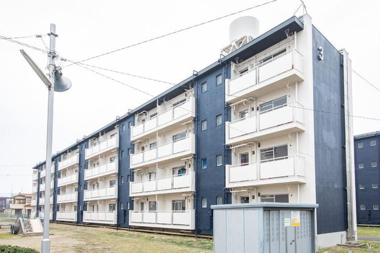 奈良県 マンション4棟イメージアップ工事