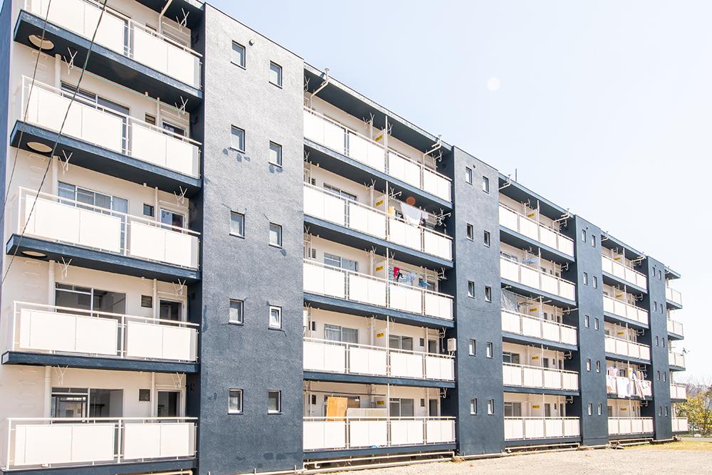 兵庫県 マンション3棟イメージアップ工事